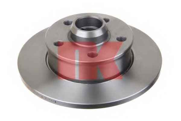 Тормозной диск NK 204736 - изображение