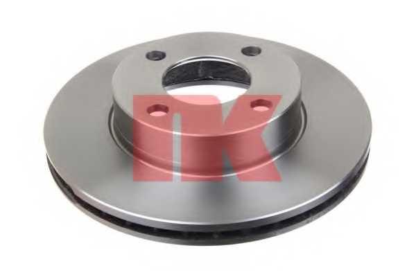 Тормозной диск NK 204738 - изображение