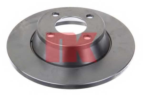 Тормозной диск NK 204741 - изображение 1