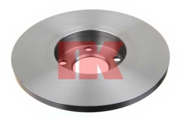 Тормозной диск NK 204742 - изображение 1