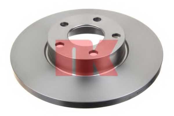 Тормозной диск NK 204742 - изображение