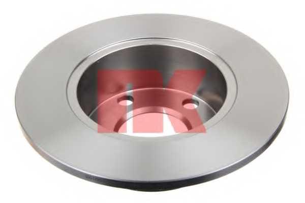 Тормозной диск NK 204744 - изображение 1