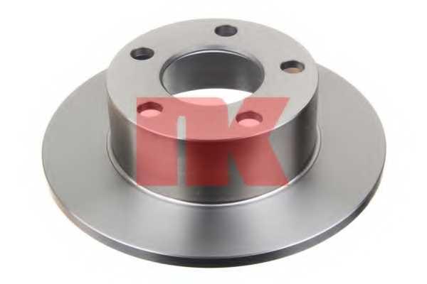 Тормозной диск NK 204744 - изображение