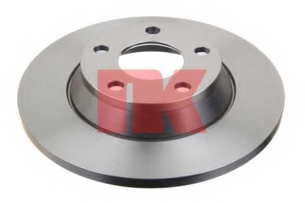 Тормозной диск NK 204745 - изображение 1