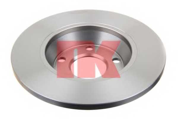 Тормозной диск NK 204745 - изображение