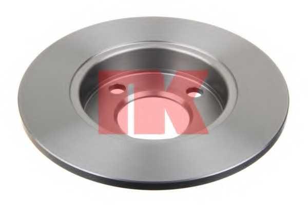 Тормозной диск NK 204748 - изображение 1