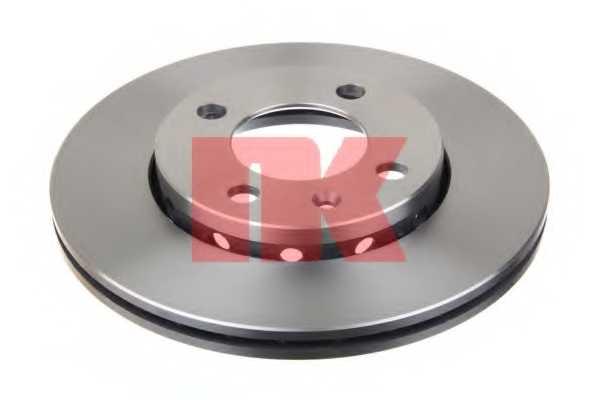 Тормозной диск NK 204756 - изображение