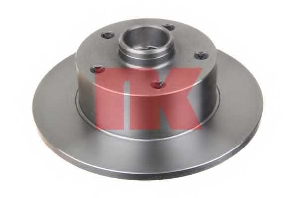 Тормозной диск NK 204757 - изображение 1