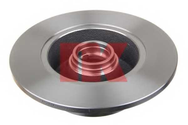 Тормозной диск NK 204757 - изображение