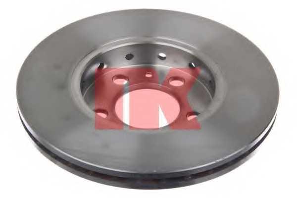 Тормозной диск NK 204758 - изображение 1