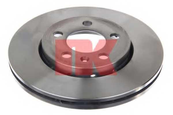 Тормозной диск NK 204758 - изображение