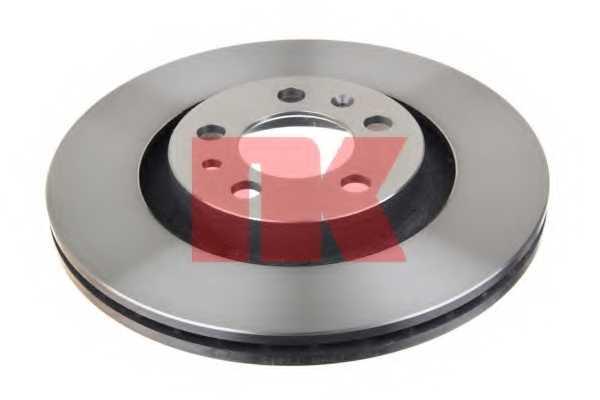 Тормозной диск NK 204759 - изображение 1