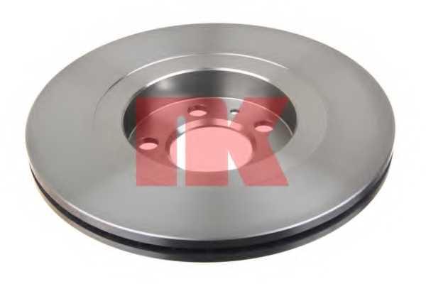 Тормозной диск NK 204759 - изображение