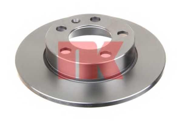 Тормозной диск NK 204761 - изображение 1