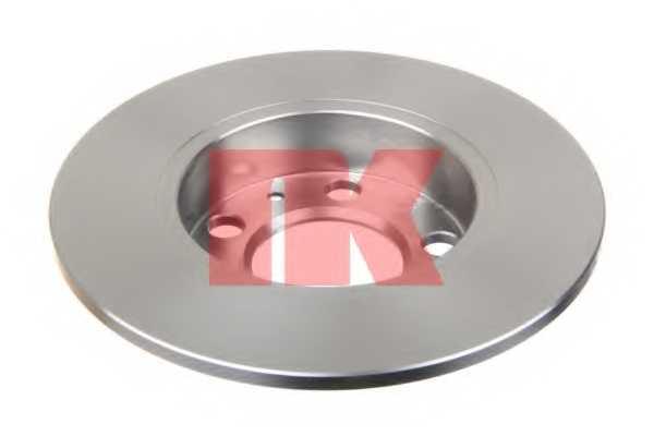 Тормозной диск NK 204761 - изображение