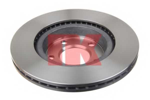 Тормозной диск NK 204762 - изображение 1