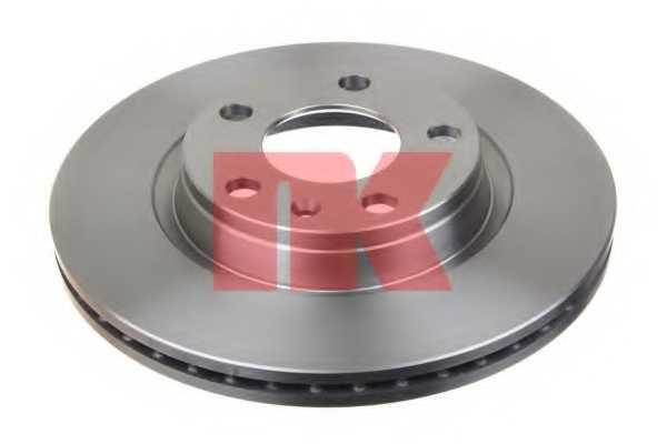 Тормозной диск NK 204762 - изображение