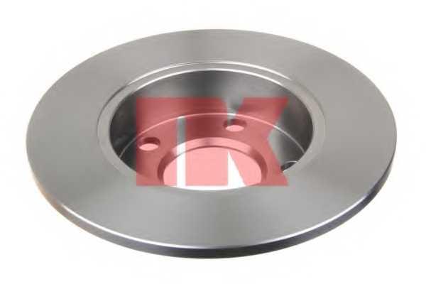 Тормозной диск NK 204763 - изображение