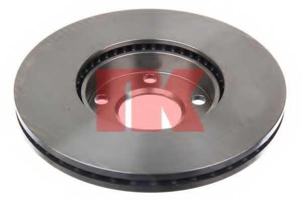Тормозной диск NK 204765 - изображение 1