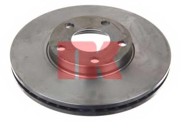 Тормозной диск NK 204765 - изображение