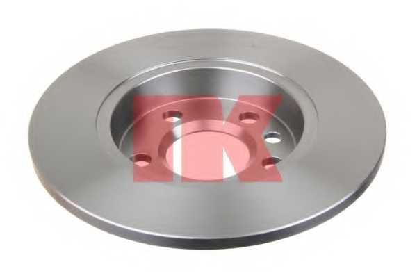 Тормозной диск NK 204767 - изображение 1