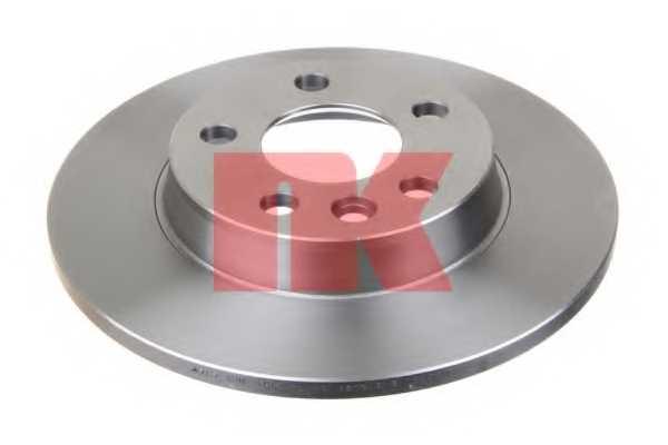 Тормозной диск NK 204767 - изображение