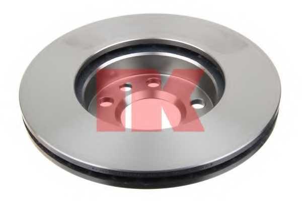 Тормозной диск NK 204768 - изображение