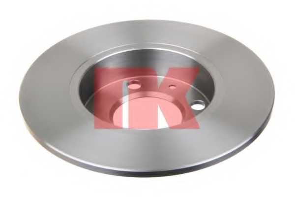 Тормозной диск NK 204771 - изображение 1