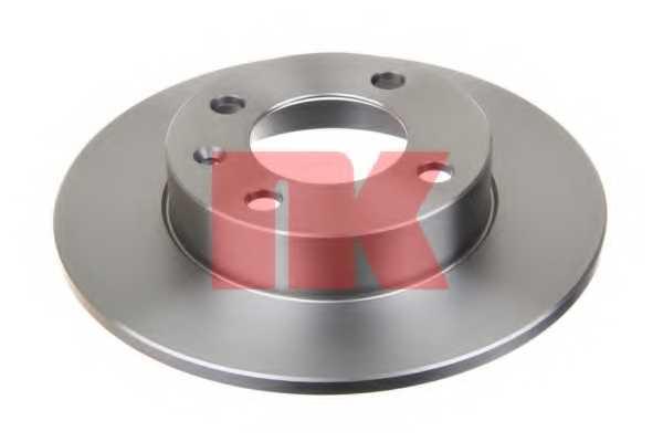 Тормозной диск NK 204771 - изображение