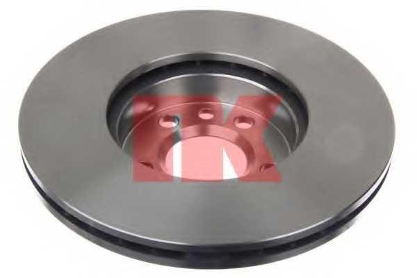 Тормозной диск NK 204772 - изображение