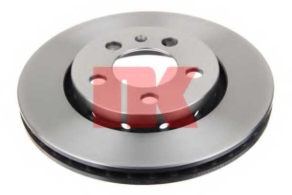 Тормозной диск NK 204775 - изображение