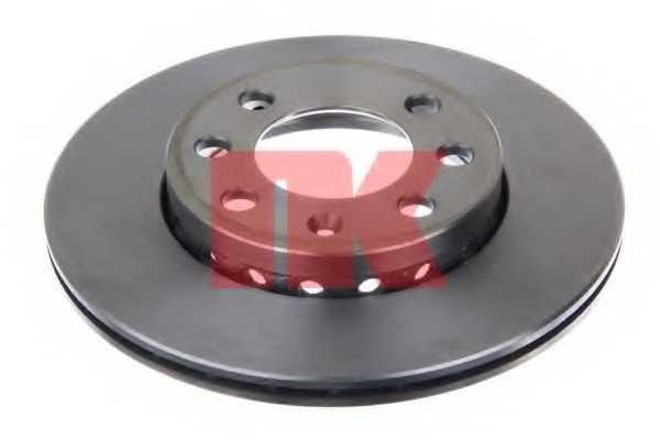 Тормозной диск NK 204776 - изображение 1