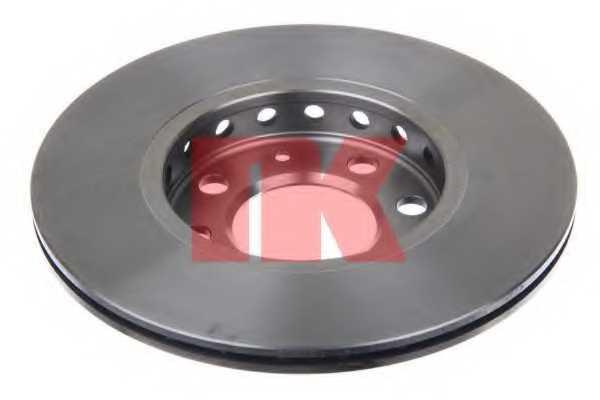 Тормозной диск NK 204776 - изображение