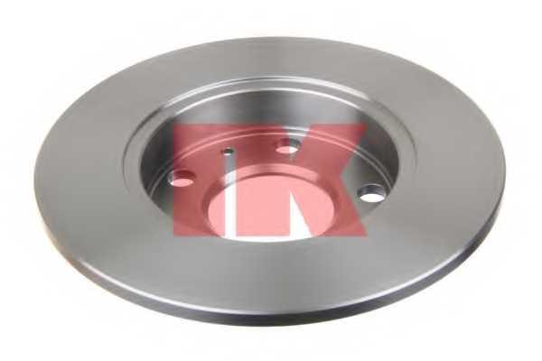 Тормозной диск NK 204778 - изображение 1