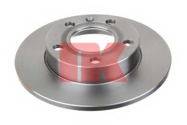 Тормозной диск NK 204778 - изображение