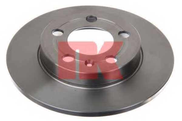 Тормозной диск NK 204779 - изображение 1
