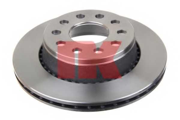 Тормозной диск NK 204781 - изображение