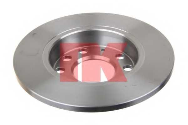 Тормозной диск NK 204782 - изображение 1