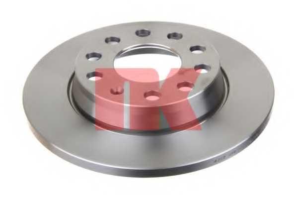 Тормозной диск NK 204782 - изображение