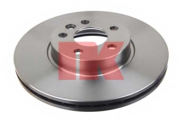 Тормозной диск NK 204783 - изображение 1