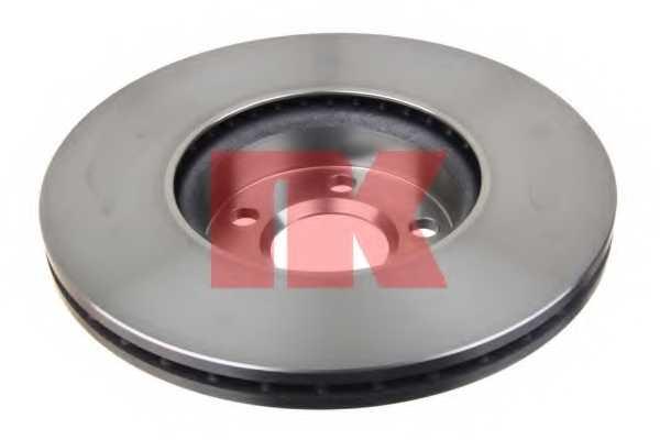 Тормозной диск NK 204783 - изображение