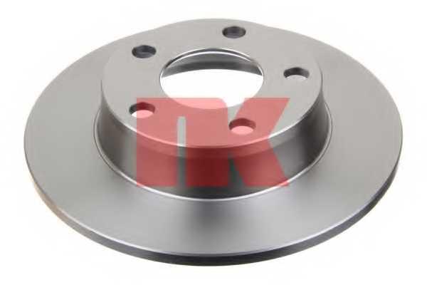 Тормозной диск NK 204784 - изображение 1