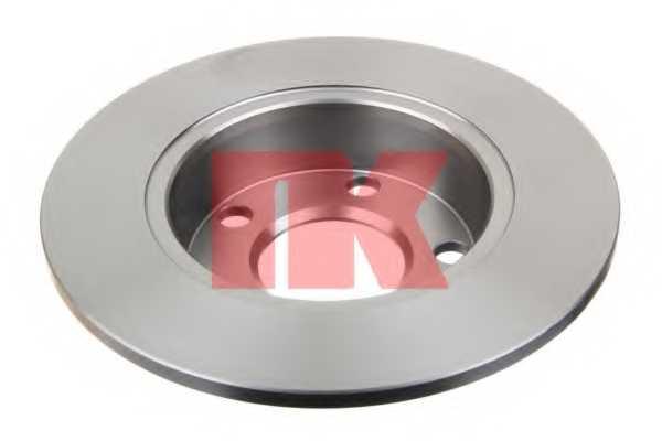 Тормозной диск NK 204784 - изображение