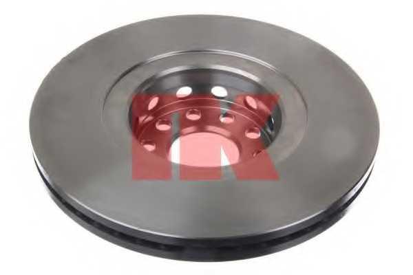 Тормозной диск NK 204791 - изображение 1