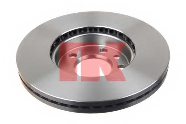Тормозной диск NK 204795 - изображение 1