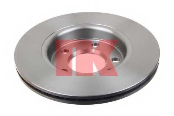 Тормозной диск NK 204797 - изображение 1