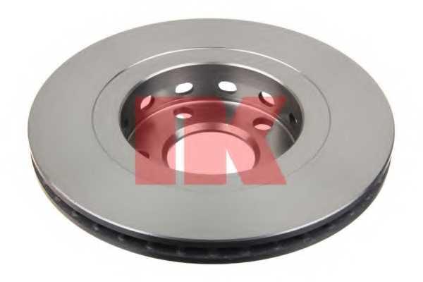 Тормозной диск NK 204798 - изображение 1