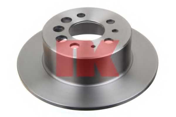 Тормозной диск NK 204807 - изображение 1