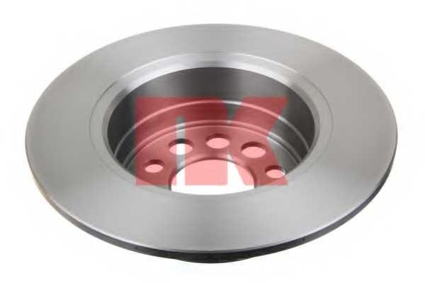 Тормозной диск NK 204807 - изображение