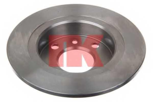 Тормозной диск NK 204824 - изображение